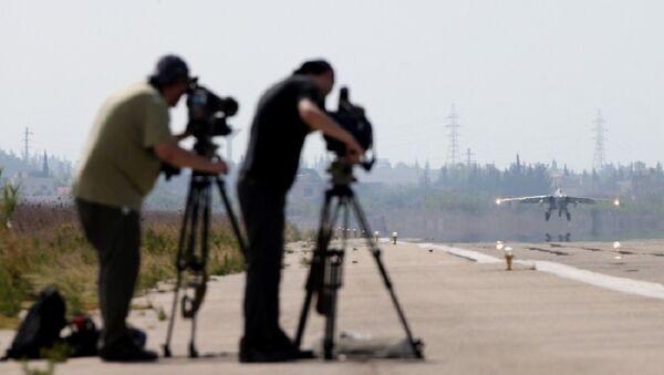 Les médias occidentaux en visite en Syrie - Sputnik France