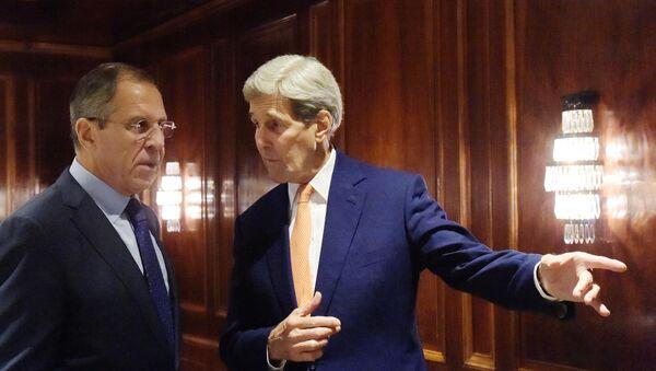 Sergueï Lavrov et John Kerry - Sputnik France