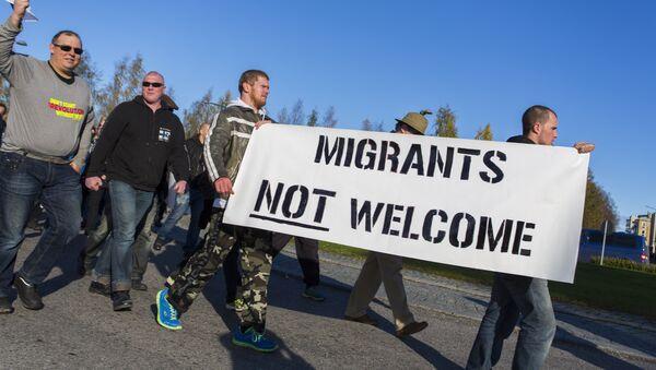 Finlande: lancement de la campagne contre les réfugiés - Sputnik France