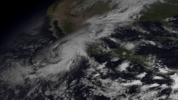 Patricia, ouragan qui a touché le Mexique, octobre 2015 - Sputnik France