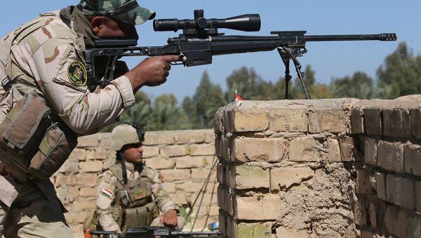 Un tireur d'élite de l'armée irakienne - Sputnik France