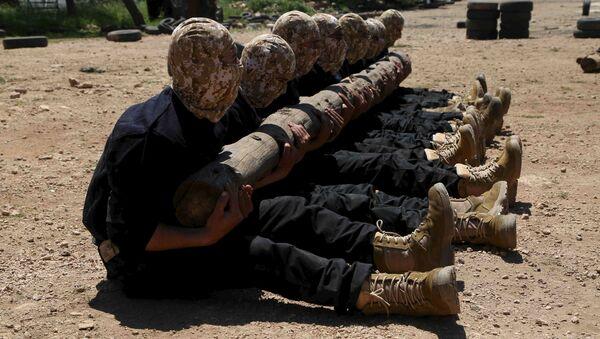Combattants de l'Armée syrienne libre (ASL). Archive photo - Sputnik France