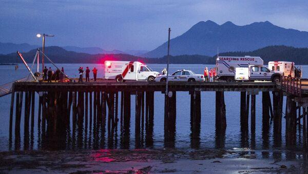 Naufrage d'un bateau au Canada, oct. 25, 2015. - Sputnik France
