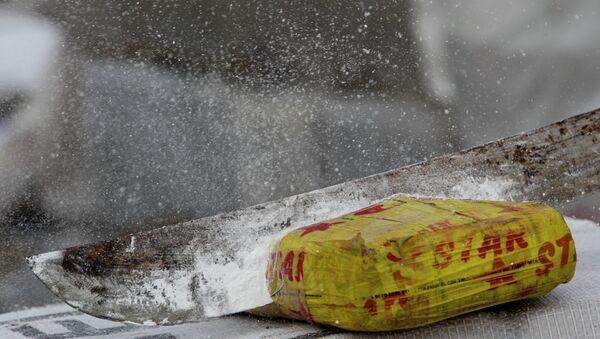 Un paquete de cocaína - Sputnik France