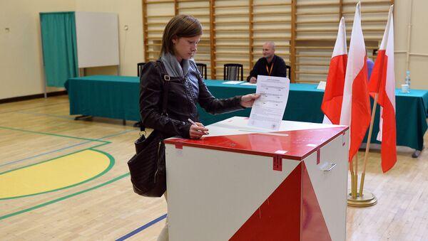 bureau de vote, Pologne - Sputnik France