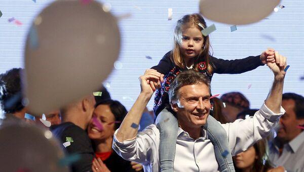 Le leader de l'opposition, le candidat à la présidentielle argentine, Mauricio Macri - Sputnik France