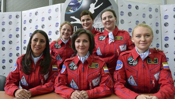Vol interplanétaire: six femmes russes sélectionnées pour des essais - Sputnik France