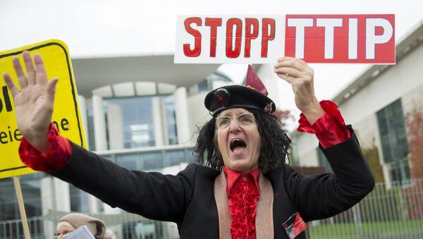Le président du Bundestag menace de ne pas signer le TTIP - Sputnik France