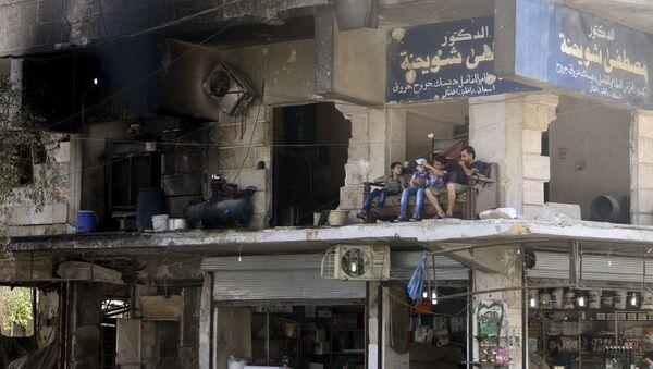 Ruines d'une maison à Alep, le 1er août 2015 - Sputnik France