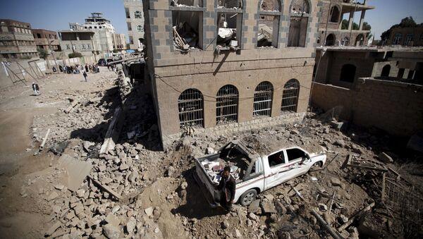 Destructions à Sanaa - Sputnik France