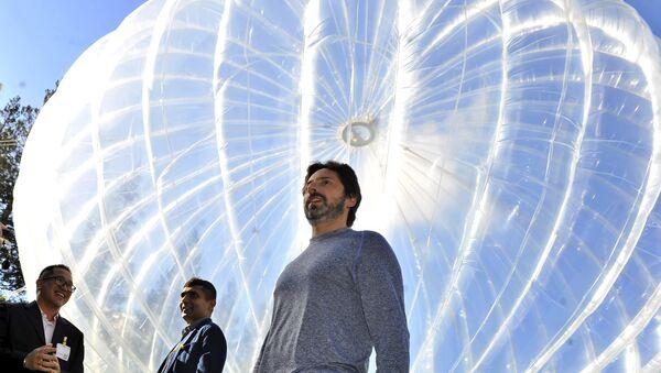 Google lancera 300 ballons dans la stratosphère pour un accès Internet - Sputnik France