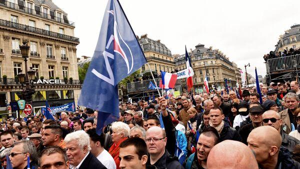 Une manifestation à Paris - Sputnik France