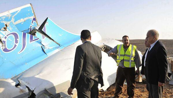 Débris de l'A321 russe dans le Sinaï - Sputnik France
