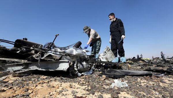 Des experts russes étudient les débris de l'Airbus A321 en Egypte - Sputnik France