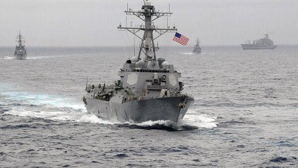 US Navy guided-missile destroyer USS Lassen - Sputnik France