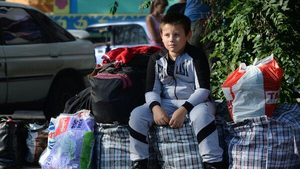 des réfugiés de Donetsk en Russie - Sputnik France
