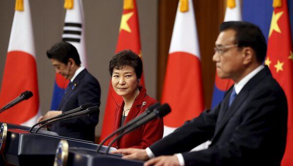 Chine, Corée du Sud et Japon ont repris contact hier à Séoul - Sputnik France