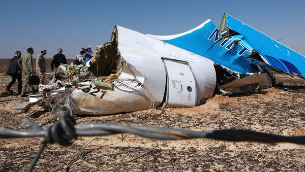 le crash de l'A321 en Egypte - Sputnik France