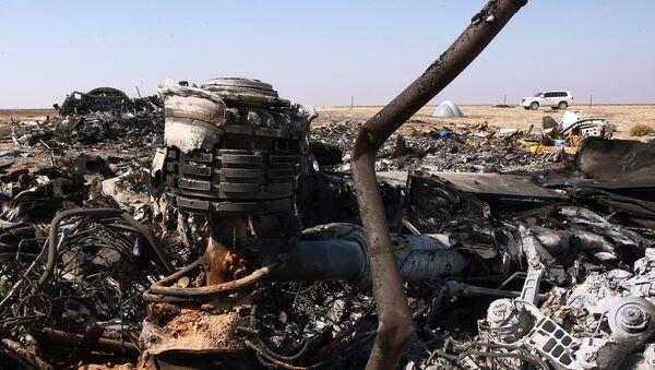 des débris de l`avion A321, Egypte - Sputnik France