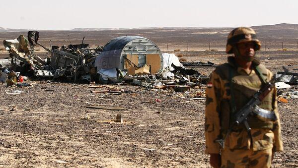 Sur les lieux du crash de l'A321 russe en Egypte - Sputnik France