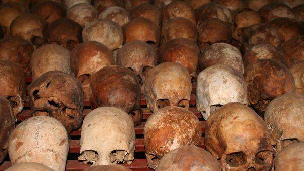 Les crânes des victimes du génocide - Sputnik France