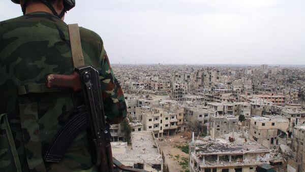 L'armée syrienne desserre l'étau djihadiste autour de la ville de Homs - Sputnik France
