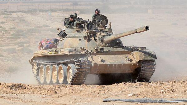 L'armée syrienne en position aux abords de Palmyre - Sputnik France