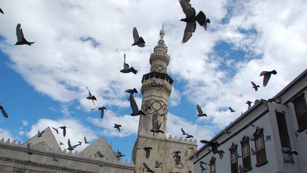 Minaret de la mosquée des Omeyyades, Damas - Sputnik France