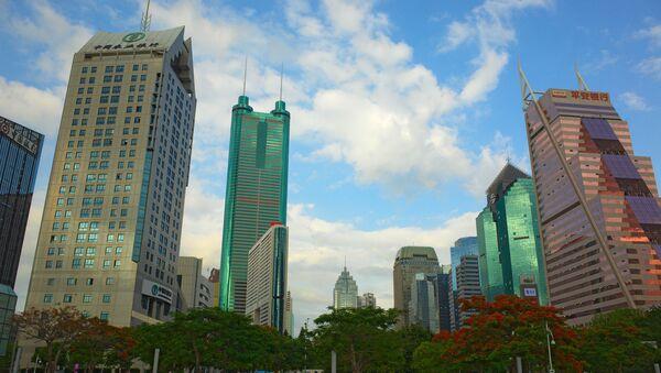 Quartier financier à Shenzhen, en Chine - Sputnik France