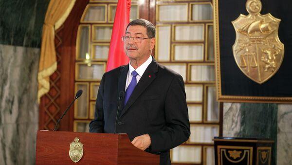 Premier ministre tunisien Habib Essid - Sputnik France