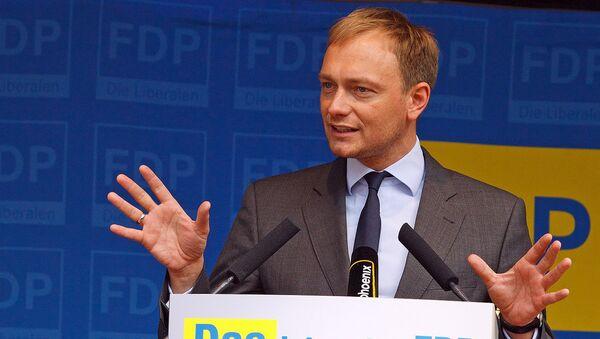 Christian Lindner (FDP) - Sputnik France