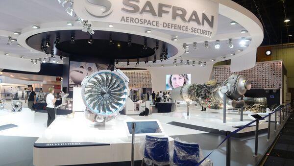 Stand du groupe Safran au Salon du Bourget 2015 (archives) - Sputnik France