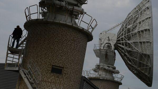 Un centre russe de communication par satellite (archives) - Sputnik France
