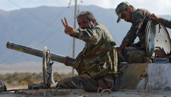 En Syrie, l'armée gagne du terrain sur les djihadistes - Sputnik France
