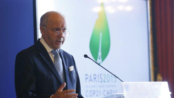 le chef de la diplomatie française Laurent Fabius, COP21 - Sputnik France