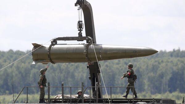 Le missile Iskander-M - Sputnik France