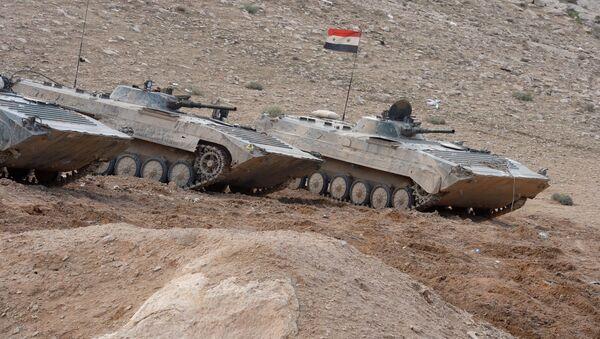 L'armée syrienne aux abords de Palmyre - Sputnik France