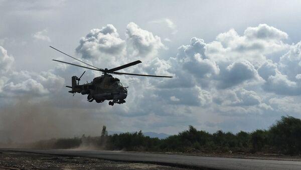 L'Etat islamique abat un hélicoptère russe près de Palmyre - Sputnik France