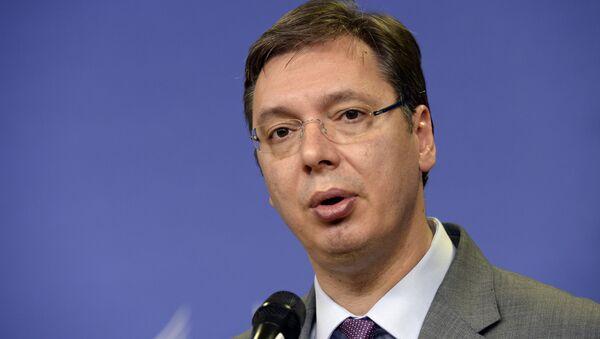 Premier ministre serbe Alexandre Vucic - Sputnik France