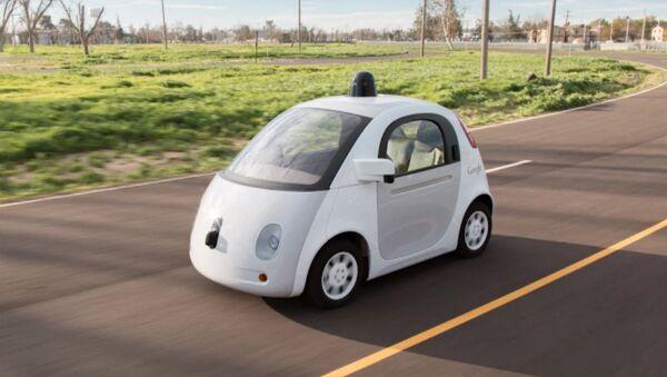 La voiture sans conducteur Google - Sputnik France