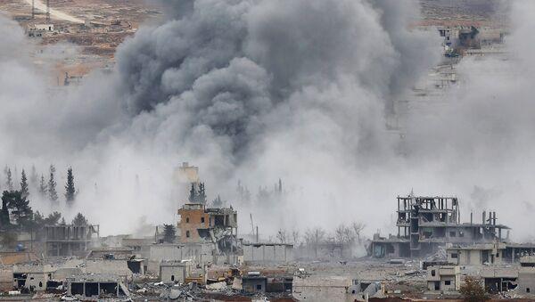 Des frappes aériennes américaines en Syrie - Sputnik France