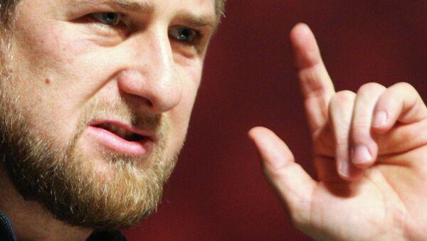 le chef de la République de Tchétchénie, Ramzan Kadyrov - Sputnik France