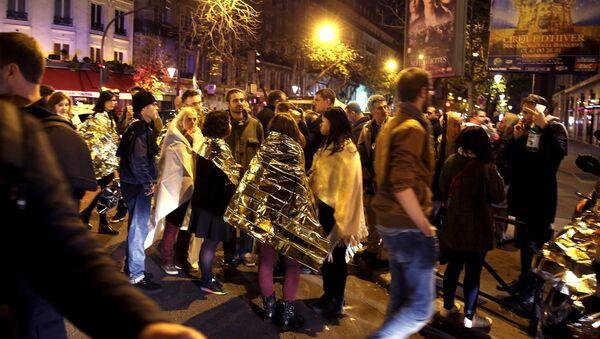 Les attentats, évènements de l'année 2015 sur Twitter France - Sputnik France