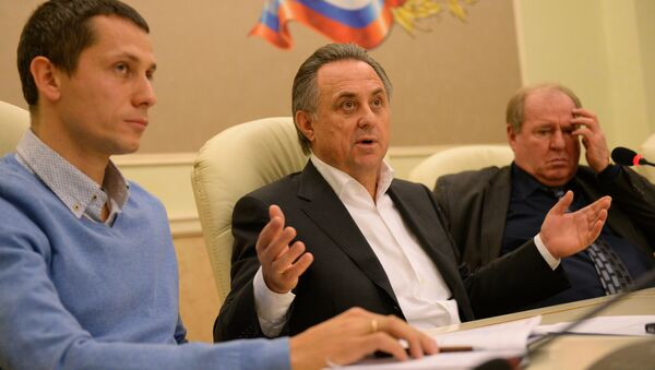 Russia's Sports Minister Vitaly Mutko said Sunday he hoped that during the All-Russia Athletic Federation (ARAF) suspension by the International Association of Athletics Federations (IAAF) Russian athletes would be able to compete at international competitions under the flag of the Russian Olympic Committee (ROC) - Sputnik France