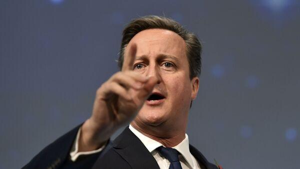 Le premier-ministre britannique David Cameron - Sputnik France