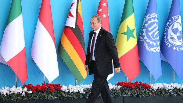 Le président russe Vladimir Poutine prend part au sommet du G20 en Turquie - Sputnik France
