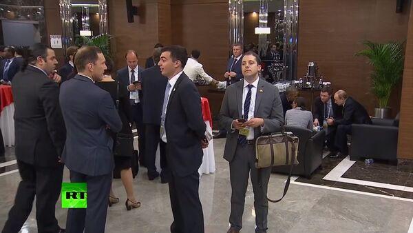 L'homme essayait d'entendre Poutine et Obama lors du G20 - Sputnik France