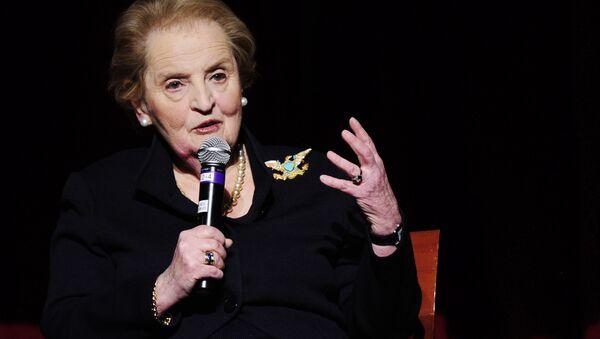 L'ex-secrétaire d'État américaine Madeleine Albright - Sputnik France
