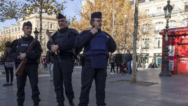 Des policiers français, Paris - Sputnik France