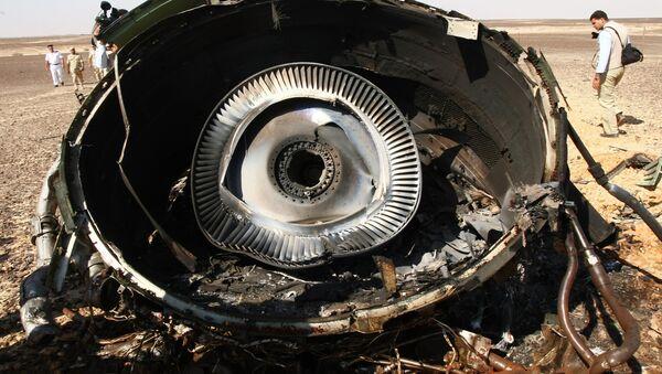 Crash de l'A321 russe - Sputnik France